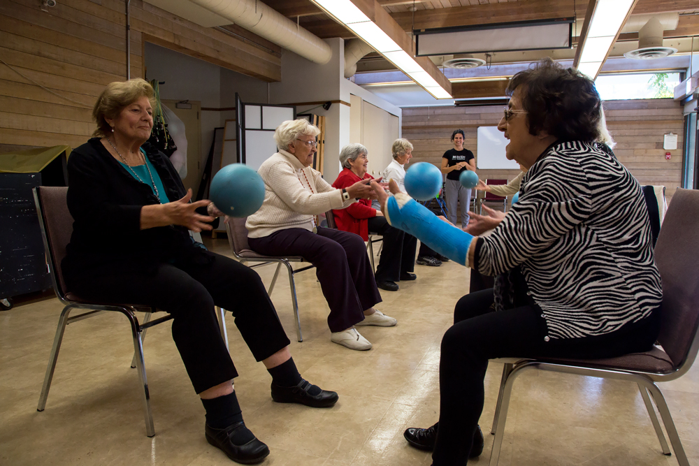 Seniors fight loneliness